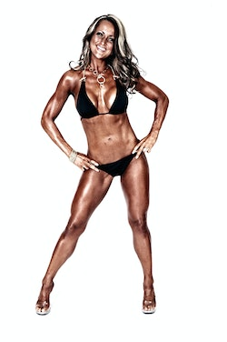Deanna Hutchinson Fitness Model and Competitor
